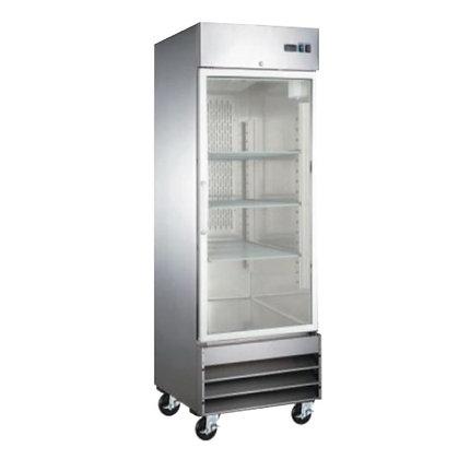 Refrigerador 1 puerta de cristal Icehaus