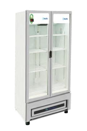 Refrigerador 2 puertas de cristal 664 litros RB500 Metalfrio