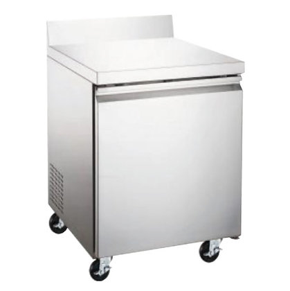 Mesa de trabajo con congelador 1 puerta 7 pies Icehaus