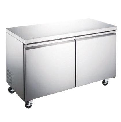 Refrigerador bajo barra Icehaus 2 puertas 12 pies RBB-2P-SS-01