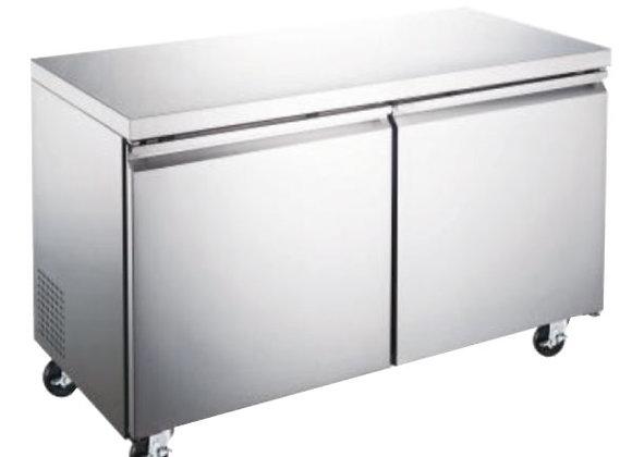 Congelador bajo barra 2 puertas 12 pies Icehaus