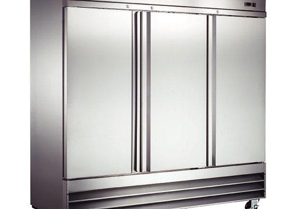 Refrigerador 3 puertas sólidas Icehaus