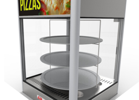 Exhibidor para pizza 3 niveles EP-3G DELIBOX