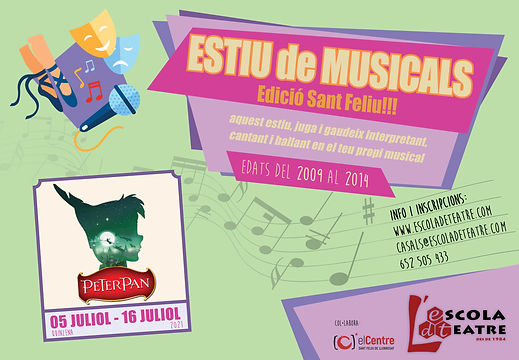 Cartell Estiu de Musicals 2021 - L'EdT.j