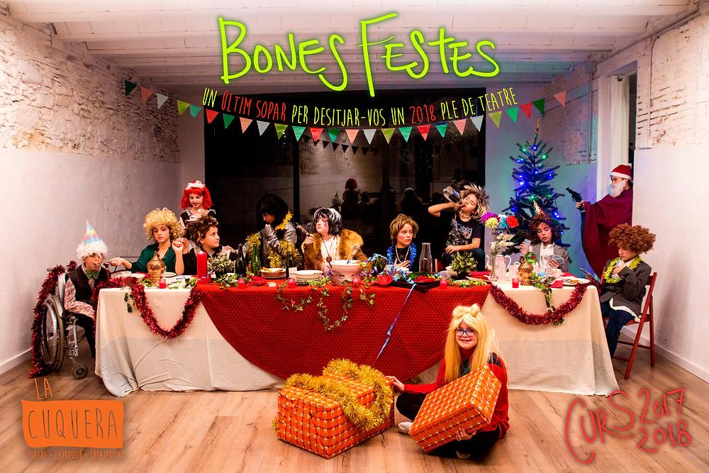 Bones Festes i per un 2018 ple de teatre!