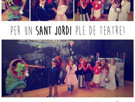 Per un Sant Jordi ple de teatre!