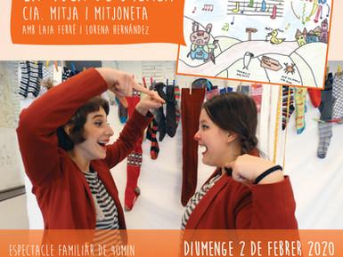 Nou espectacle de la Mitja i Mitjoneta per la Candelera