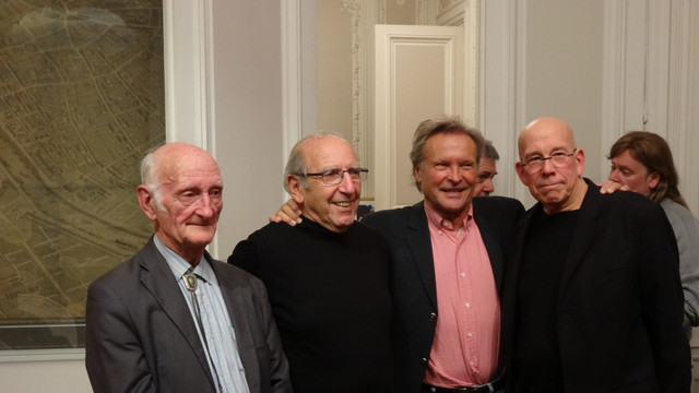 Pierre Jaubert, Yves Accary, Gil Slavin-