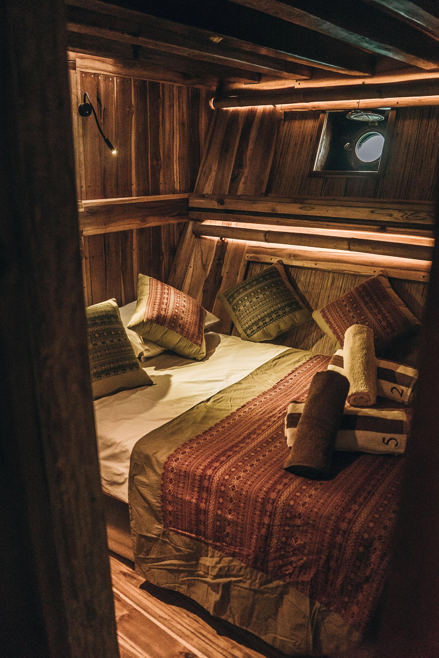 below deck cabins