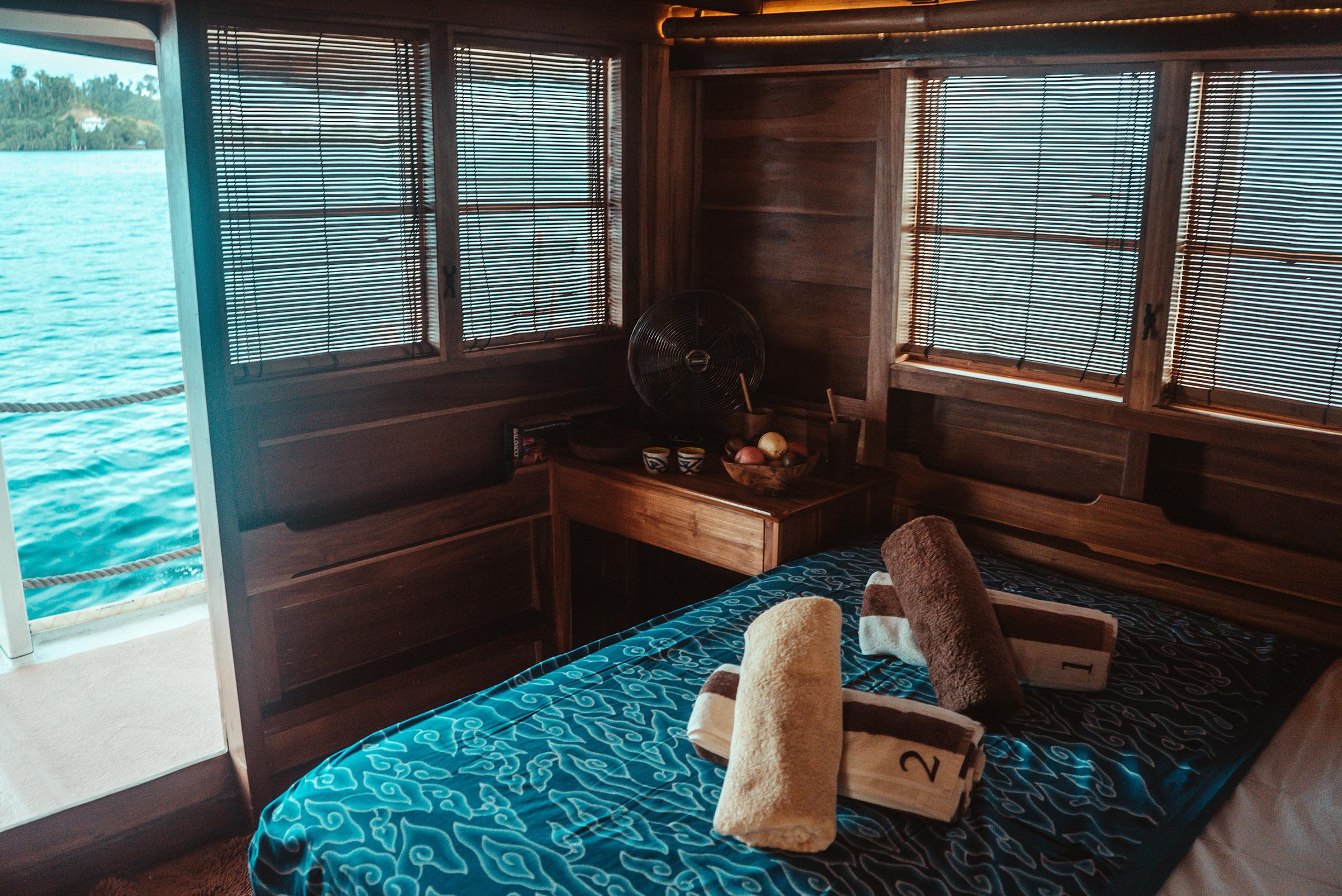 master cabin sea view