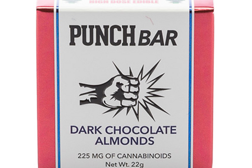 Dark Chocolate Almond Bar, 225mg