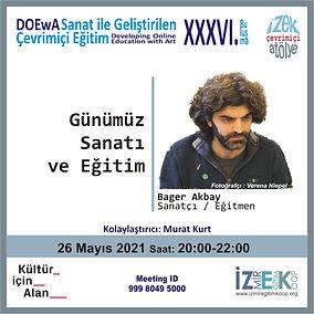 Bager Akbay Günümüz Sanatı ve Eğitim - İzmir Eğitim Kooperatifi