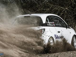 Впервые на российских раллийных дорогах Opel Adam R2