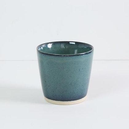 Bornholms Keramik Ø-kop - Green Ocean