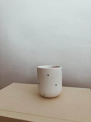 White Dot Cup