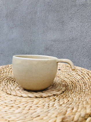 ÅBENLYS Keramik Kaffekop - Vanilje