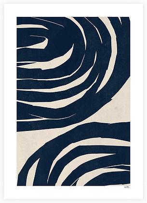 Moe Made It - Swirls No. 02 - 50 x 70 cm