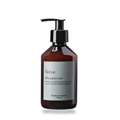 Shampoo No. 6 med birk og brændenælde