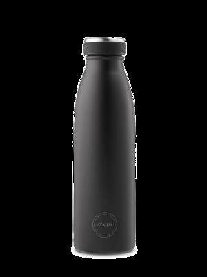 Drikkeflaske 500 ml, Matte Black