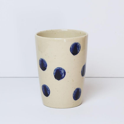 Bornholms Keramikfabrik Tall kop - Polka Dot