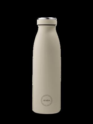 Drikkeflaske 500 ml, Cream Beige