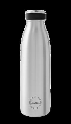 Drikkeflaske 500 ml, Natural Silver