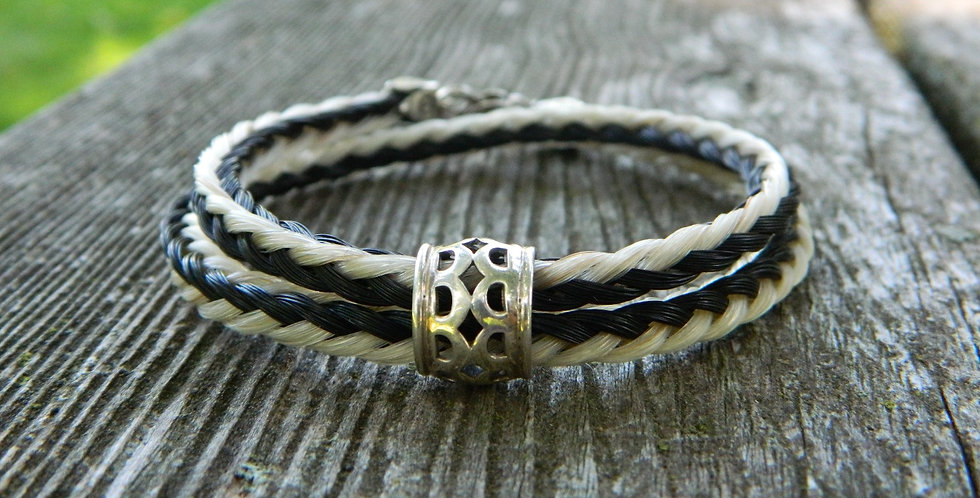 Double Loop Square Bracelet