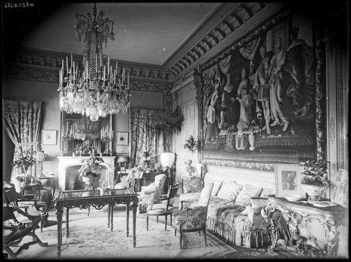 Décor d'un salon du Château