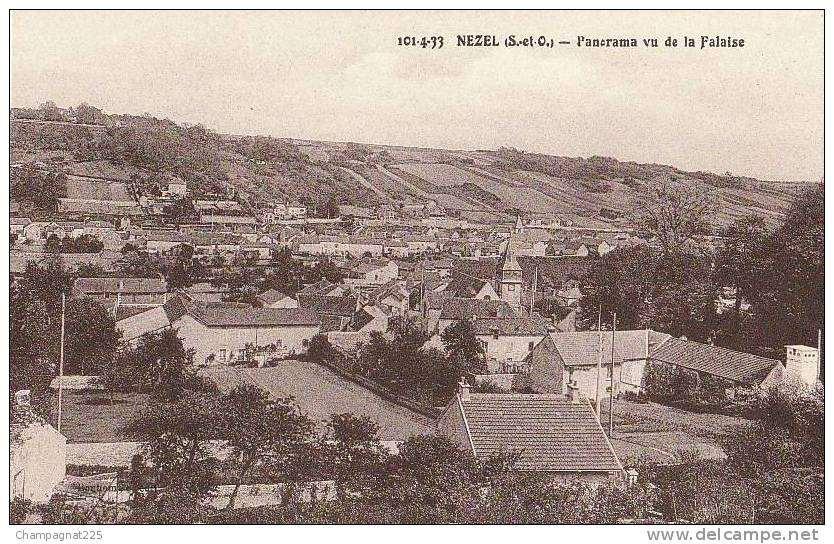 Panorama de La Falaise, ©Delcampe