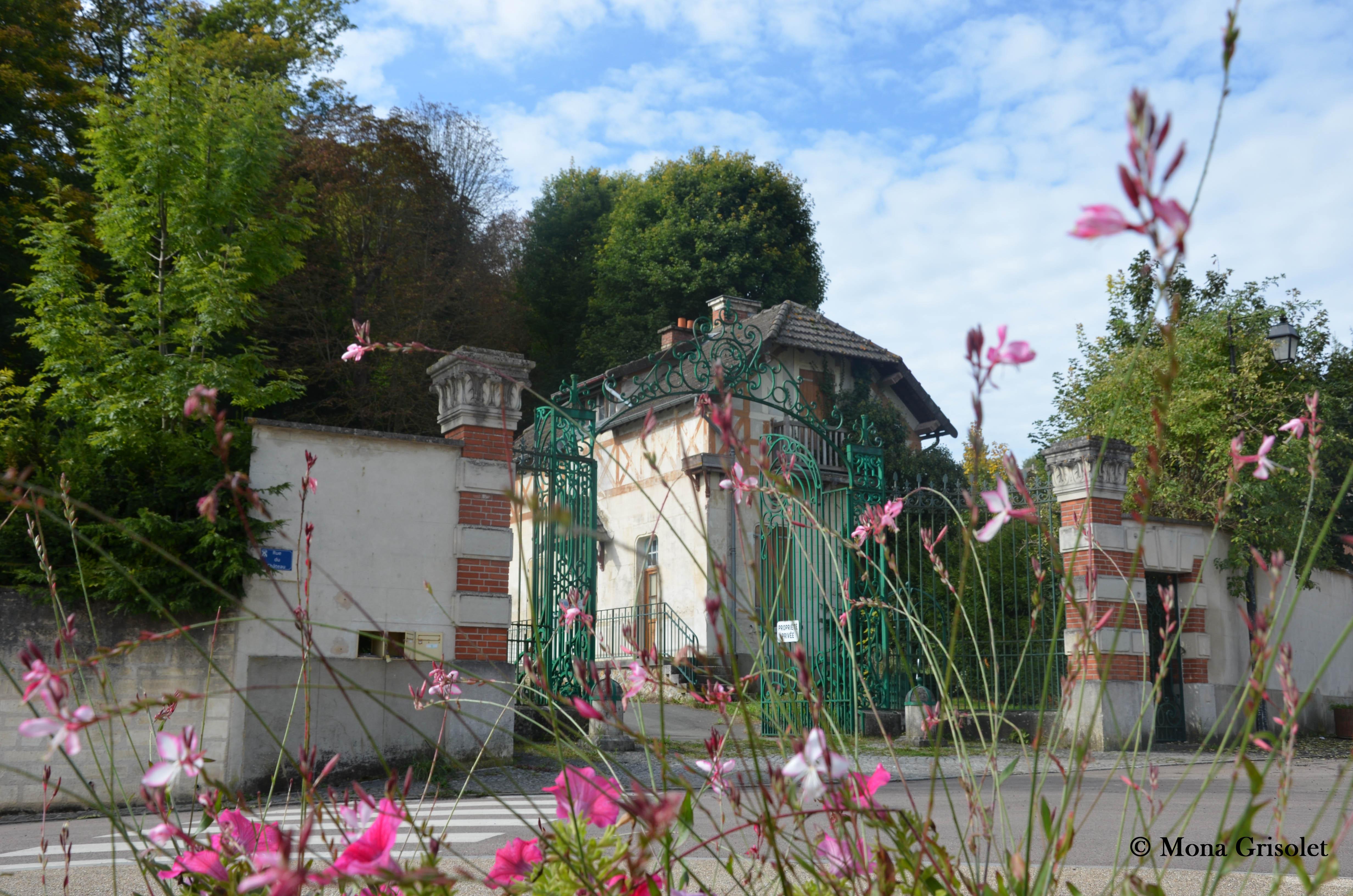 Entrée du Parc du Château
