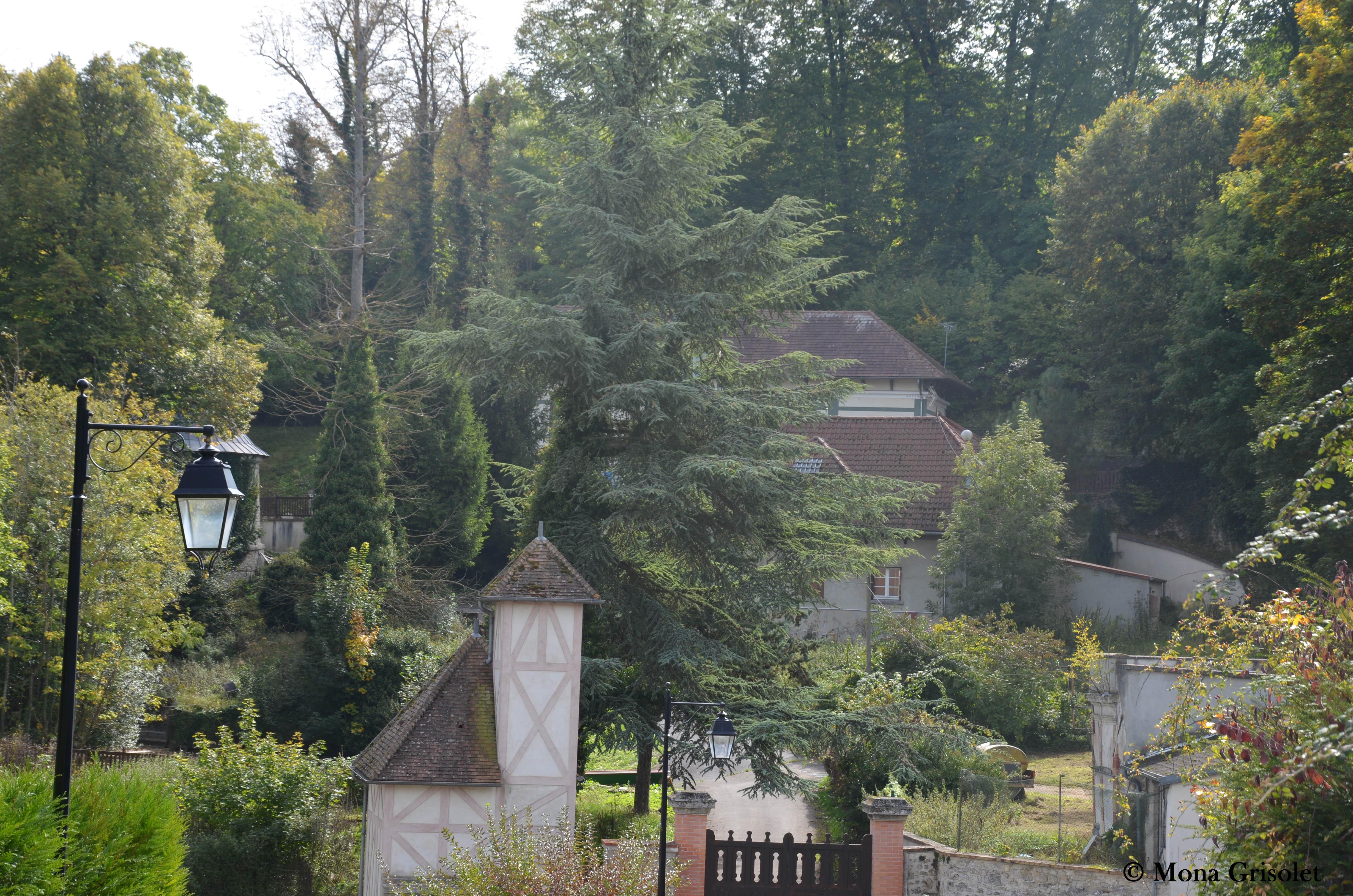 Entrée du Château de La Falaise