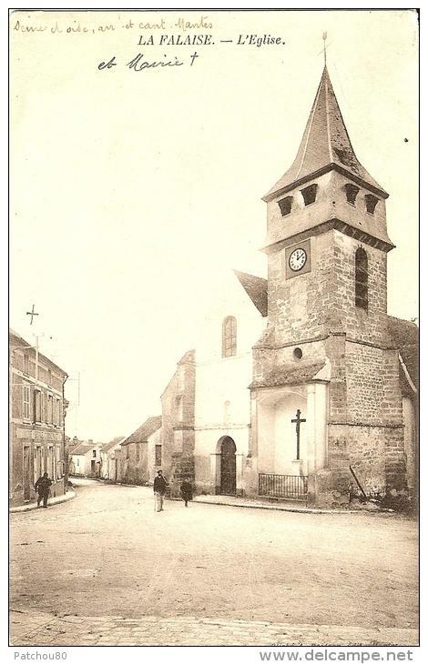 L'église et l'ancienne Mairie