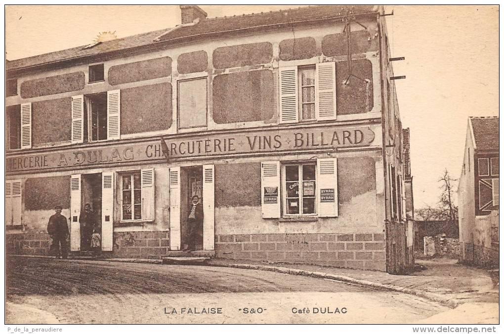 Café Dulac, La Falaise © Delcampe