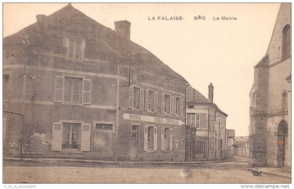 L'ancienne Mairie-Ecole à La Falaise