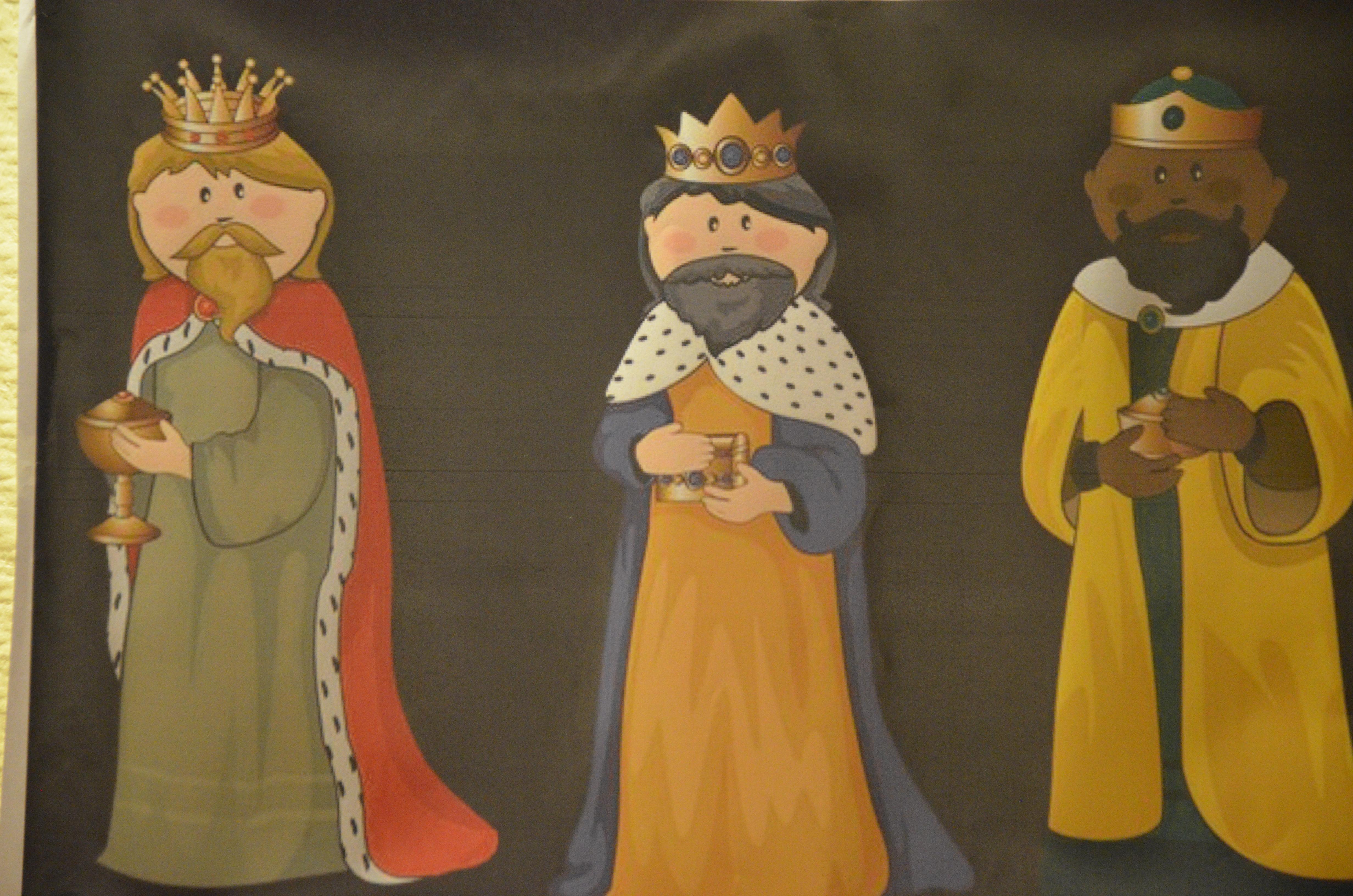 Les Rois Mages en visite