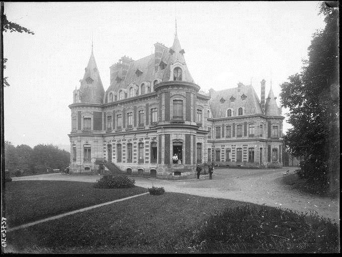 Château de La Falaise, 1900-1920