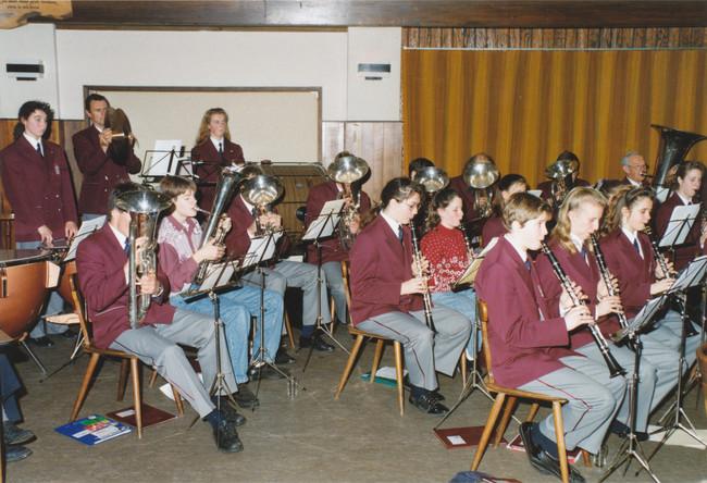 November 1992 | Concert in 'De Paddestoel'
