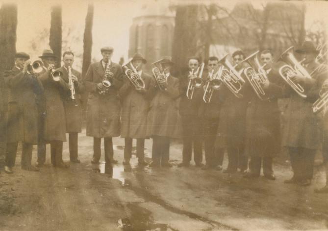 1933 | Serenade gouden huwelijk Hannes Lenkens