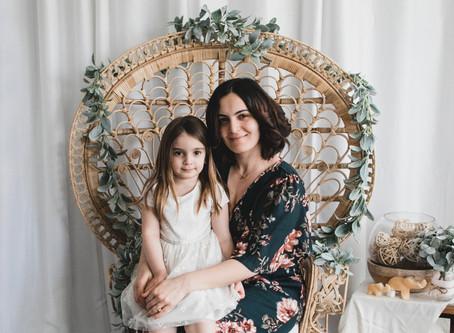 Mother's Day mini photo session, Ashburn, Va
