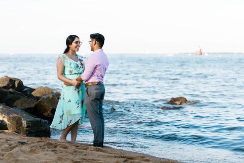 Engagement photos session