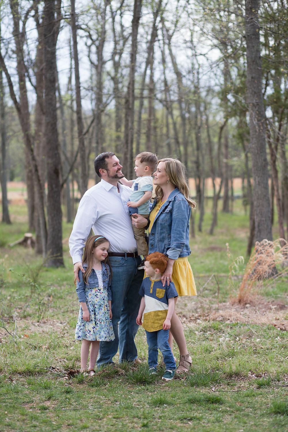 Spring family session at One Loudoun by Natalie Whitehead