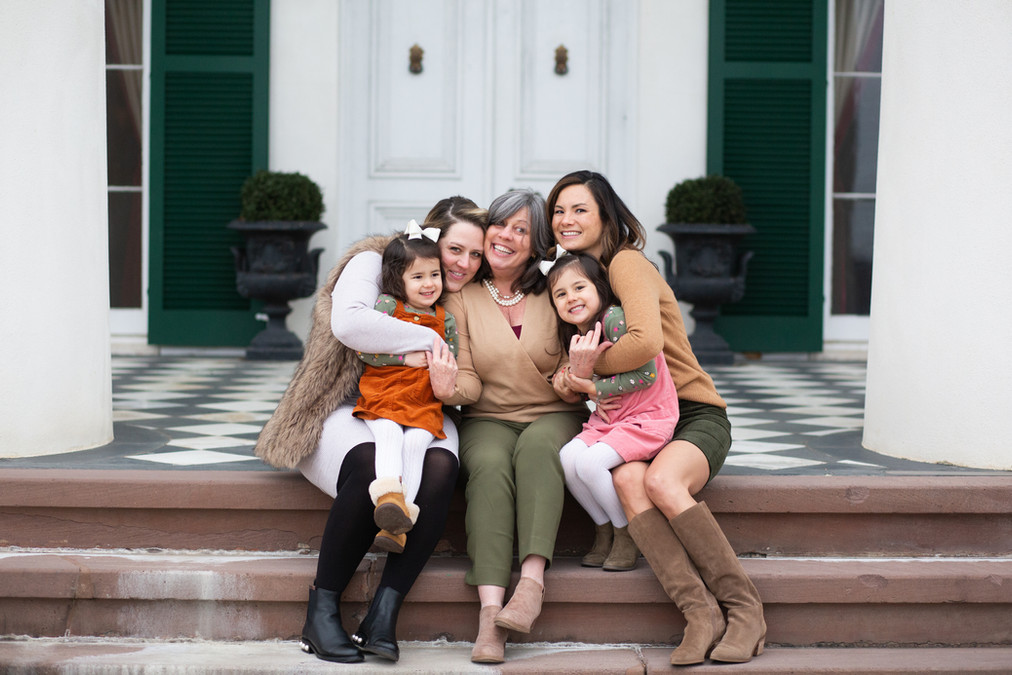 Family photos at Morven Park