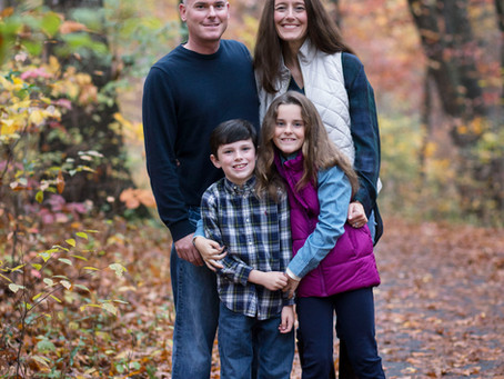 Fall Family Photo Session, Ashburn, Va