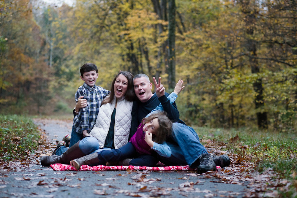 Fall session by the family house by Natalie Whitehead