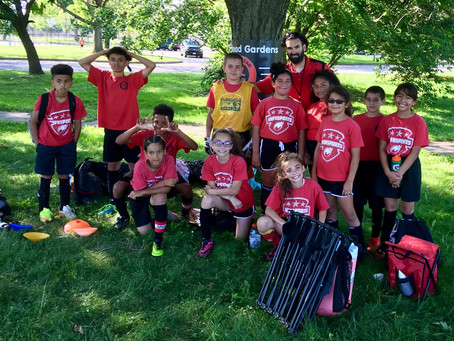 Another win for Elementary Soccer!