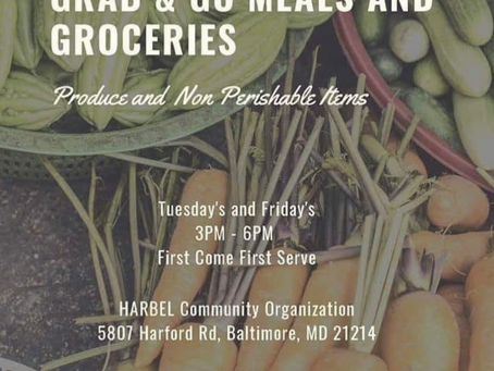 Free Food in Northeast Baltimore!