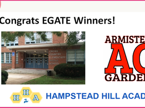 Armistead Gardens School is an EGATE Winner!