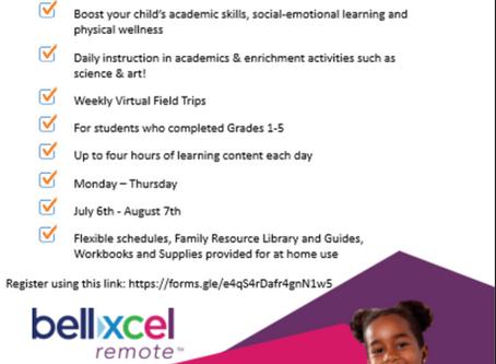 Bellxcel Summer Program