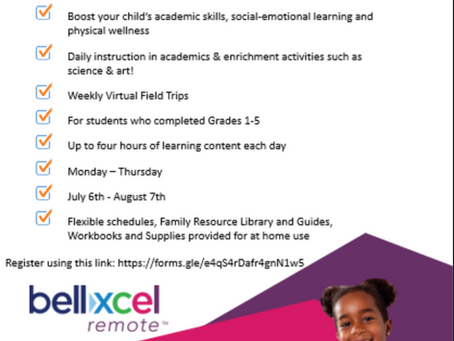 Bellxcel Summer Program