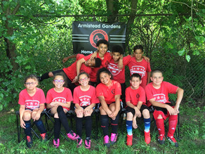 Close Game for Elementary Soccer